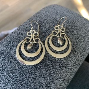 ATI 925 Mexico Sterling Dangle teardrop earrings